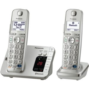 best seniors Phone with Answering Machine 2 Cordless Handsets